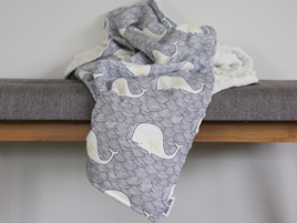 Blue Whale  Blanket