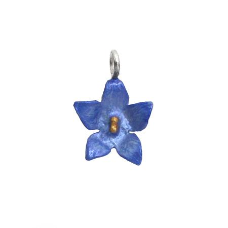 Bluebell Flower Charm