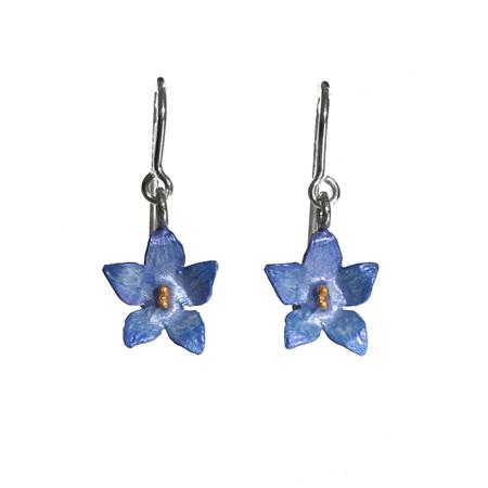 Bluebell Flower Earrings