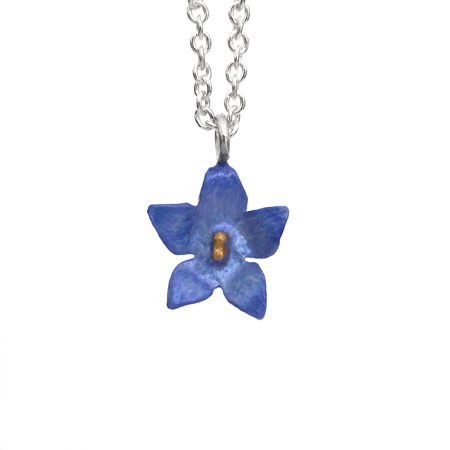 Bluebell Flower Necklace