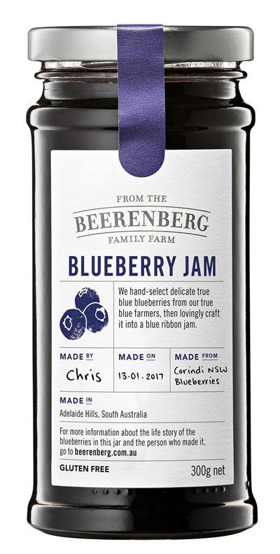 Blueberry Jam - 300g