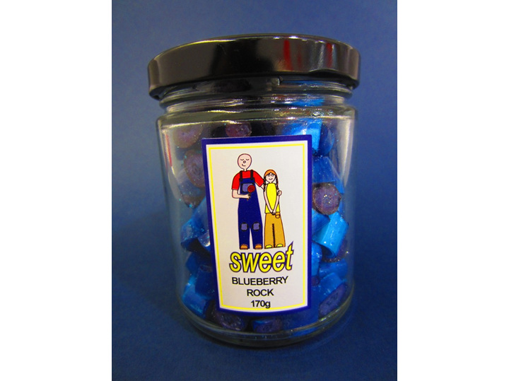 blueberry rock jar