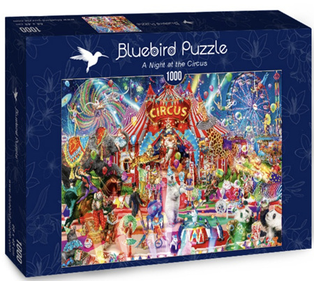 Bluebird 1000 Piece Jigsaw Puzzle:  A Night At The Circus