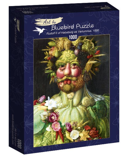 Bluebird 1000 Piece Jigsaw Puzzle:  Arcimboldo - Rudolf II of Habsburg as Vertumnus, 1590