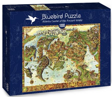 Bluebird 1000 Piece Jigsaw Puzzle: Atlantis Center of the Ancient World