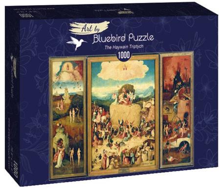 Bluebird 1000 Piece Jigsaw Puzzle:  Bosch - The Haywain Triptych