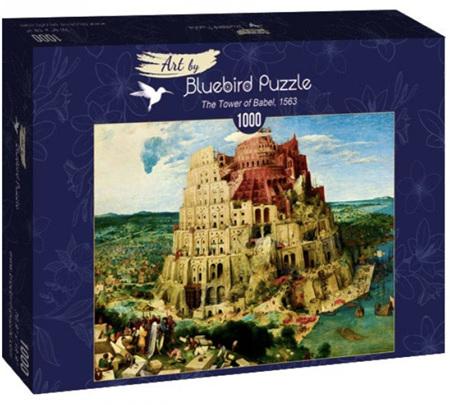 Bluebird 1000 Piece Jigsaw Puzzle:  Bruegel the Elder - The Tower of Babel, 1563