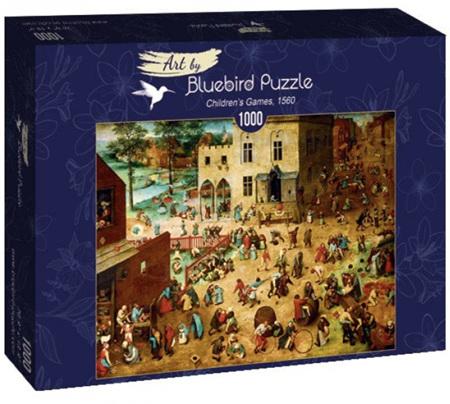 Bluebird 1000 Piece Jigsaw Puzzle:  Bruegel the Elder - Children's Games, 1560