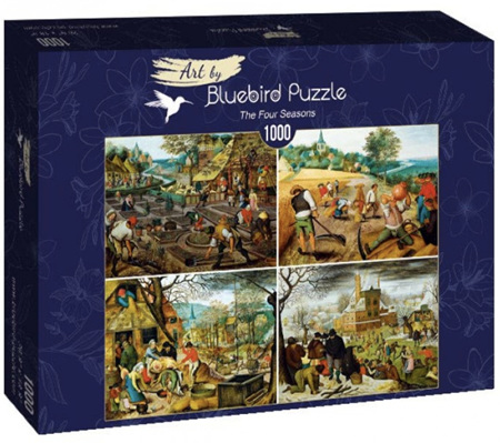 Bluebird 1000 Piece Jigsaw Puzzle:  Brueghel the Younger - The Four Seasons