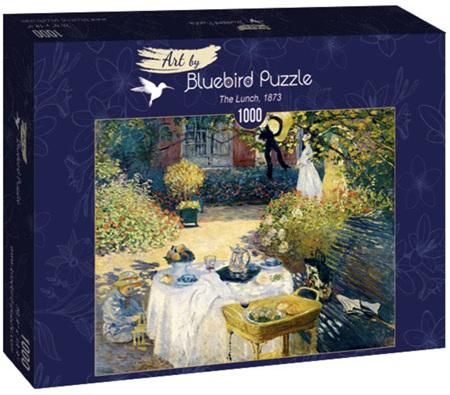 Bluebird 1000 Piece Jigsaw Puzzle:  Claude Monet - The Lunch, 1873