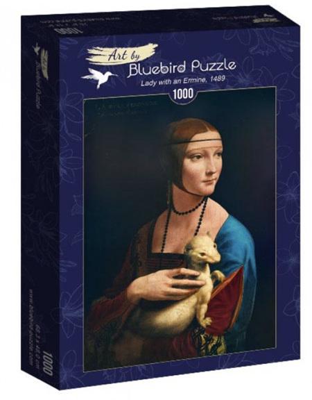 Bluebird 1000 Piece Jigsaw Puzzle: Da Vinci - Lady With Ermine, 1489