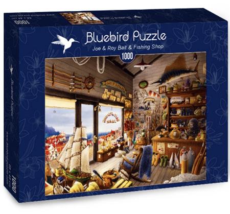 Bluebird 1000 Piece Jigsaw Puzzle:  Joe & Roy Bait & Fishing Shop