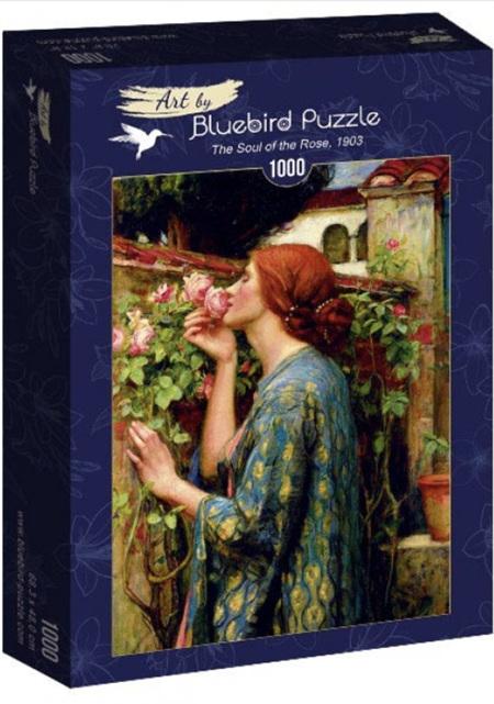 Bluebird 1000 Piece Jigsaw Puzzle:  John William Waterhouse - The Soul of the Rose, 1903