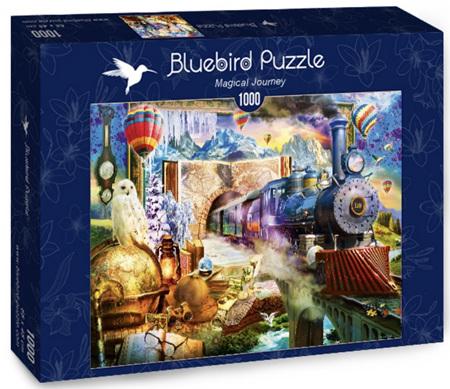 Bluebird 1000 Piece Jigsaw Puzzle: Magical Journey
