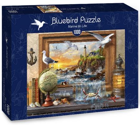 Bluebird 1000 Piece Jigsaw Puzzle: Marine to Life