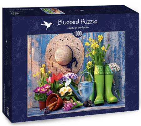 Bluebird 1000 Piece Jigsaw Puzzle:  Ready for the Garden