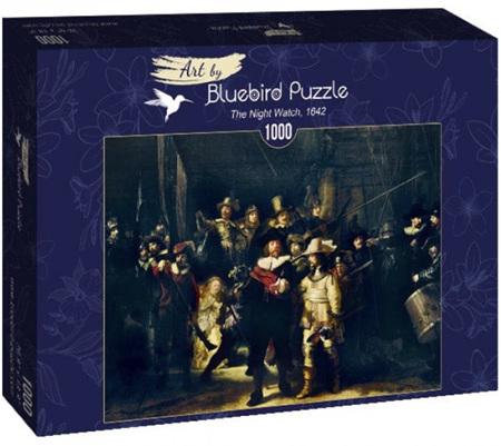 Bluebird 1000 Piece Jigsaw Puzzle:  Rembrandt - The Night Watch, 1642