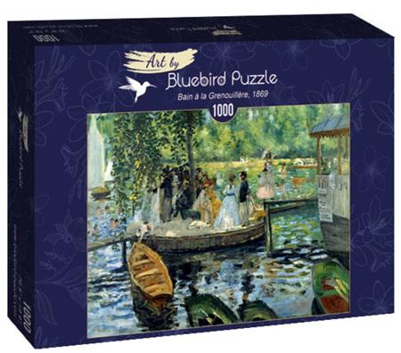 Bluebird 1000 Piece Jigsaw Puzzle:  Renoir - La Grenouillere, 1869
