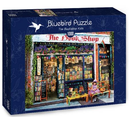 Bluebird 1000 Piece Jigsaw Puzzle:  The Bookshop Kids