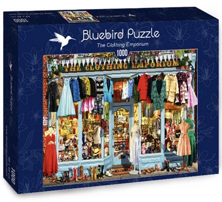 Bluebird 1000 Piece Jigsaw Puzzle: The Clothing Emporium