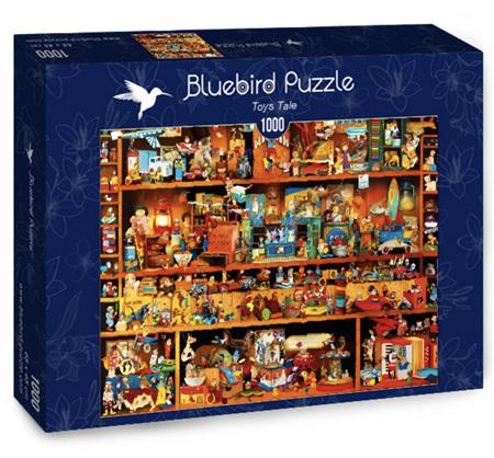 Bluebird 1000 Piece Jigsaw Puzzle: Toys Tale