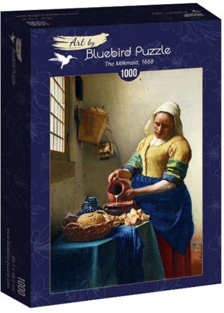 Bluebird 1000 Piece Jigsaw Puzzle: Vermeer- The Milkmaid, 1658