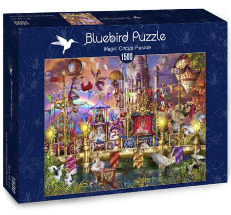 Bluebird 1500 Piece Jigsaw Puzzle:  Circus Parade