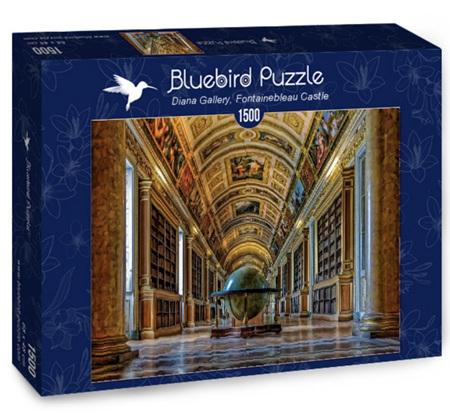 Bluebird 1500 Piece Jigsaw Puzzle: Diana Gallery, Fontainebleau Castle