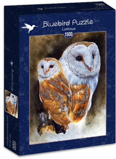Bluebird 1500 Piece Jigsaw Puzzle: Lustrous