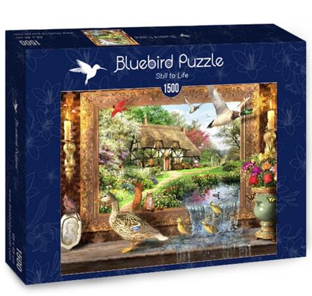 Bluebird 1500 Piece Jigsaw Puzzle:  Still To Life