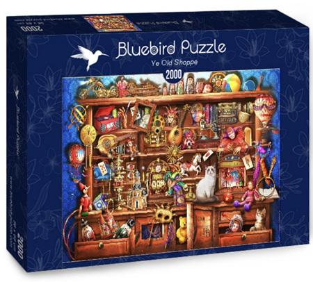 Bluebird 2000 Piece Jigsaw Puzzle:  Ye Old Shoppe