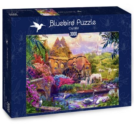 Bluebird 3000 Piece Jigsaw Puzzle:  Old Mill