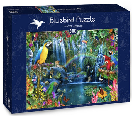 Bluebird 3000 Piece Jigsaw Puzzle: Parrot Tropics