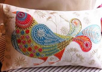 Bluebird Embroidery Kit by Nancy Nicholson