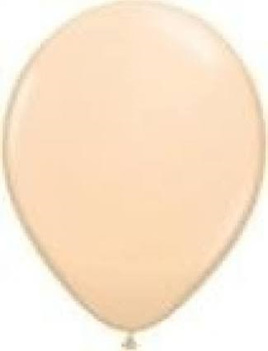 Blush latex balloon x 10