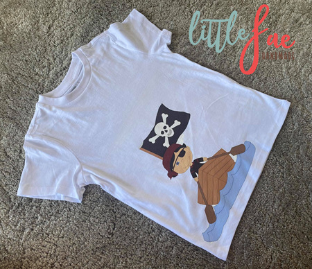 Boat Pirate T-shirt