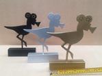 Bob the Bird  Trophy  Sign 3D Award