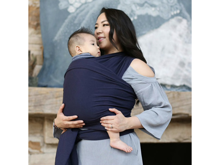 Boba Baby Wrap - Flash Sale 20% Off! - Navy Blue 0-36 months