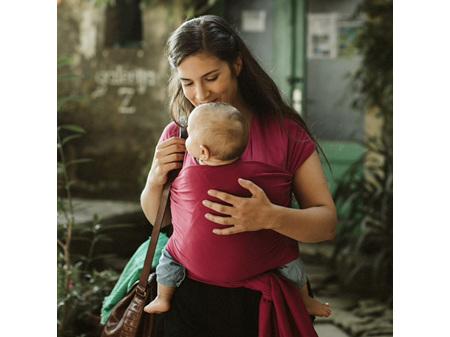 Boba Baby Wrap - Flash Sale 20% Off! - Sangria 0-36 months