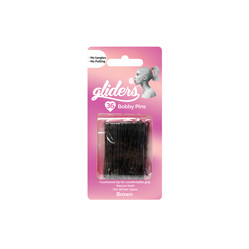 BOBBY PINS BROWN 36PCE