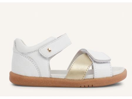 Bobux Sail Step Up White/Gold Size 20