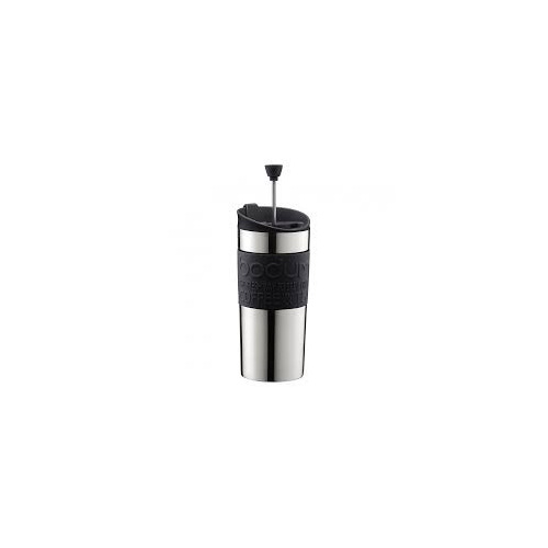 Bodum Travel Press Black ST/ST small 0.35 12oz