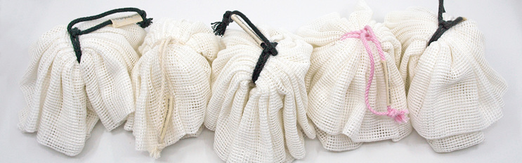 body pouf cotton body washer available in five cord  colours