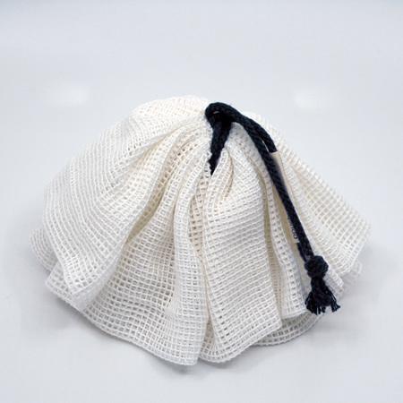 body pouf | navy cord