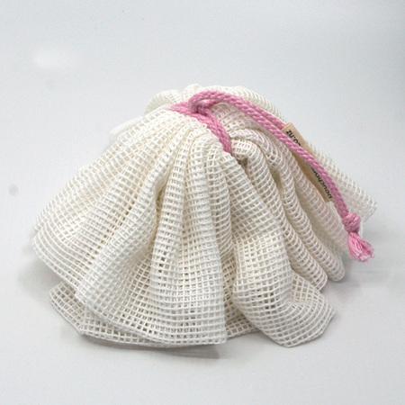 body pouf | pink cord