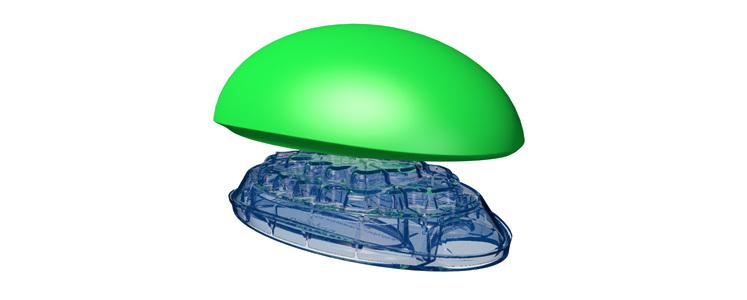 Bodystance Backpod Green/Blue 1size