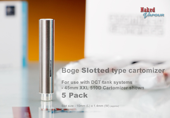 Boge Slotted DCT Cartomizers