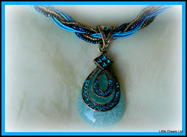 """""""Bohemian Aqua Pendant"""""""