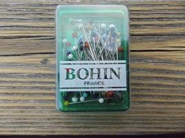 Bohin Pins Glass head 1 1/4' x 0.6m