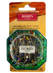 Bohin Pins Super Fine 200 pcs